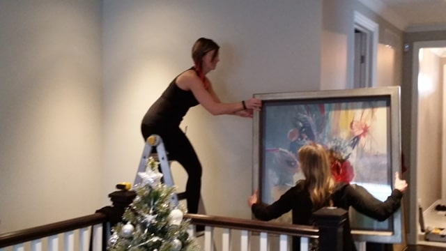 How To Hang Artwork Like the Pros!