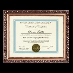 sls academy certificate
